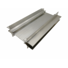 Powder coated aluminum alloy partition extruded profiles