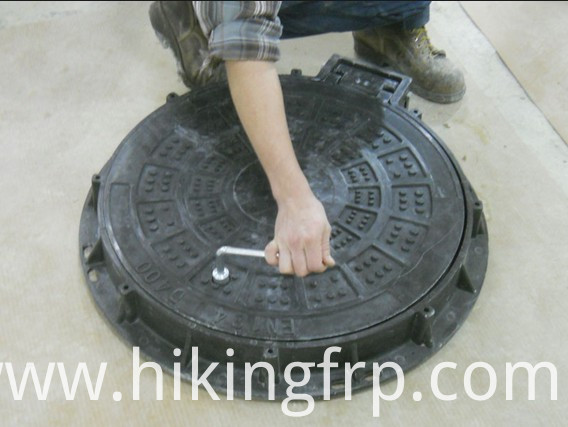 Manhole Cover With High Loading Capacity