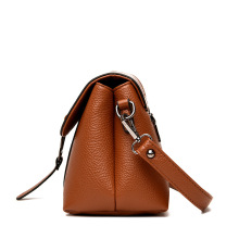 Custom vintage ladies leather handbag tote bag wholesale