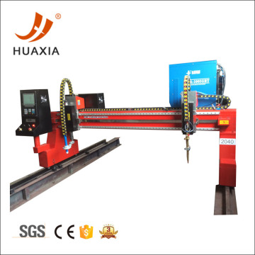 CNC profile plasma cutting machine for metal fabrication