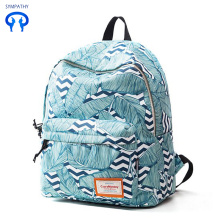 New graffiti waterproof backpack women's bag college style