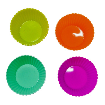 Fast Delivery for Large Silicone Muffin Cups FDA LFGB Standard Silicone Muffin Tray supply to Slovenia Exporter