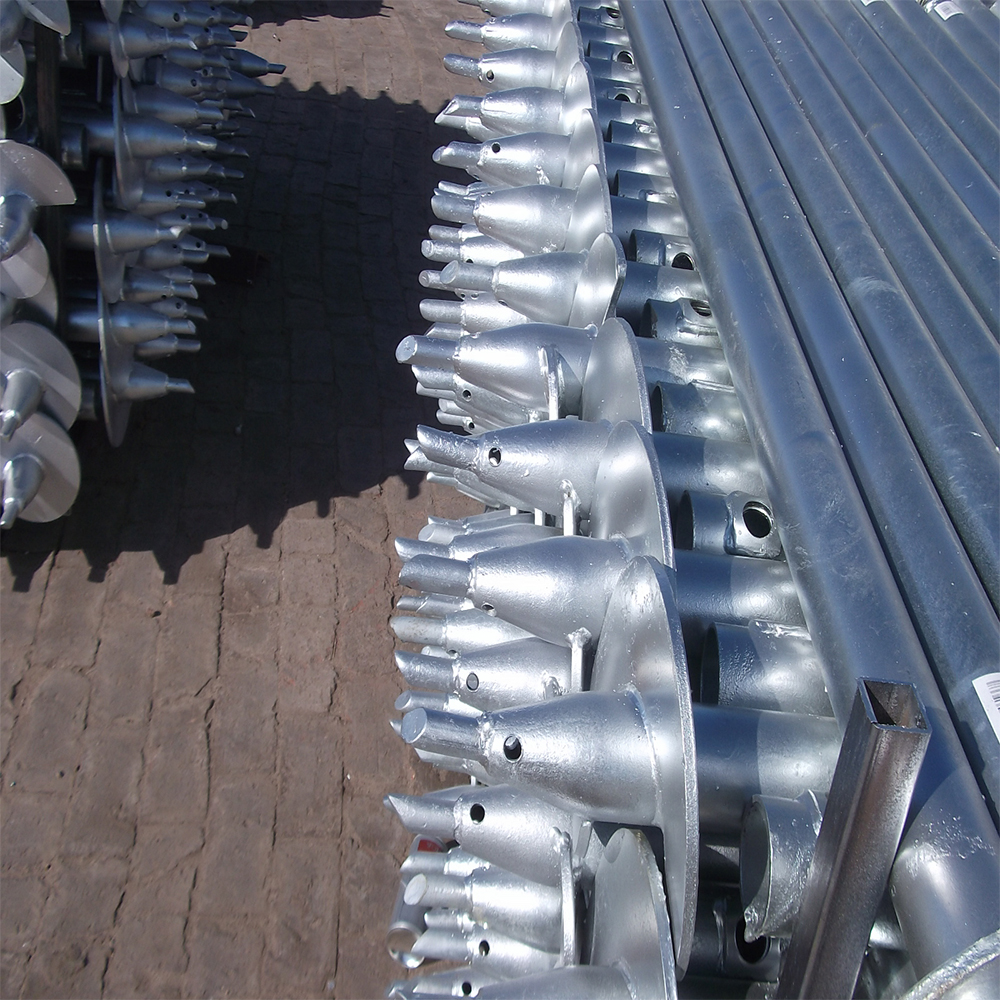 Screw Piles with One Spiral Blade
