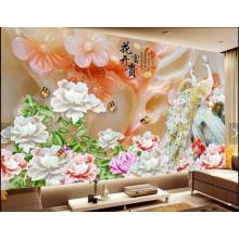 10 Years for Pvc 3D Flower Color Table Top Panel Interior Decoration PVC 3D Table Top Panel supply to Kiribati Supplier