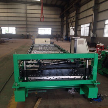 factory low price Used for Trapezoid Roof Sheet Forming Machine glalvanized glazed trapezoidal roll forming machine export to United States Supplier