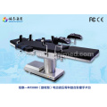 Electric surgery table with rotation top board