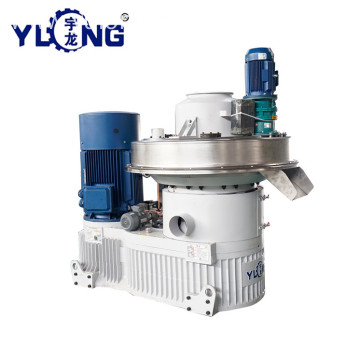 YULONG XGJ850 3-4T/h Pellet Machine From Wood sawdust price
