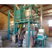 10 TPD low cost maize milling plant