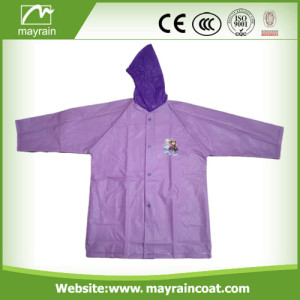 Bright Color PVC School Raincoat