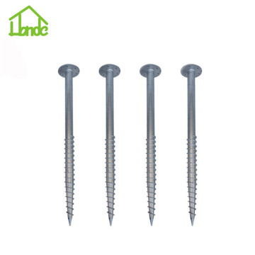 Low price ground screw for wooden house