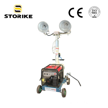 Metal Halide Lamp Telescopic Mining Light Tower
