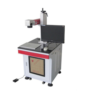 metal plastic industrial laser marking machine