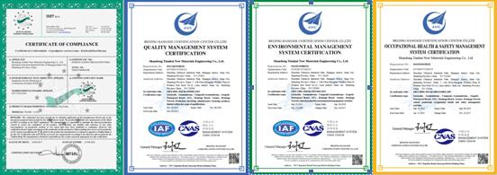 Ce Iso Certificate Of Gcl