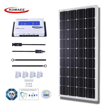 Popular Design for for Solar Power Kits 100W Monocrystal Solar Panel supply to Netherlands Suppliers