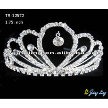Crystal wedding crowns bridal hair jewelry