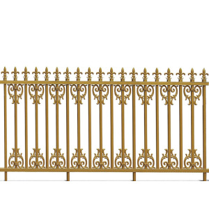 Golden Spear Aluminum Fence
