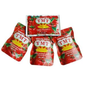 hot sell low price 70g sachet tomato paste