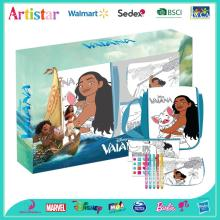 DISNEY MOANA (VAIANA) colouring your own bags set