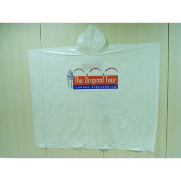 Best Price for for Emergency PE Raincoat Customized Printing Disposable Rain Coat Poncho supply to Tokelau Importers