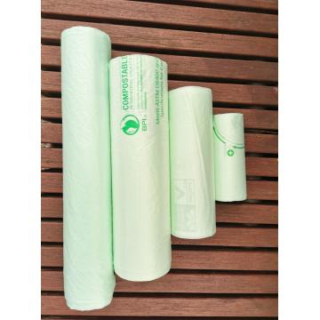 BPI Certified Compostable Household Sweeping Plastic Bags