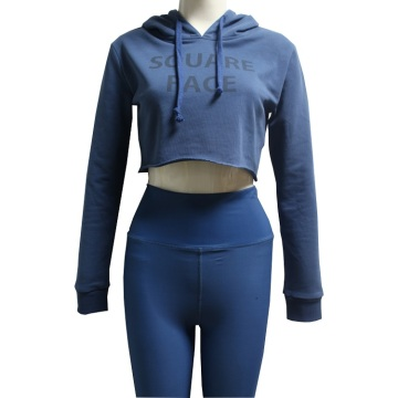China for Offer Training Hoodie,Custom Hoodies,Gymnastics Hoodie From China Manufacturer blue crop top running hoodie for women export to Thailand Exporter