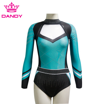 Dancewear Gymnastic Leotard Backwear Dance Adult