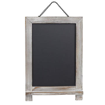 Mini chalkboard Signs Hanging single sides wooden chalkboard