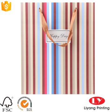 Gift quality retail shopping paper bags