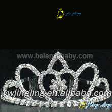 Reliable for Pearl Wedding Tiaras and Crowns, Hair Accessories for Weddings - China supplier. Wedding rhinestone tiara pageant crowns CR-674 supply to Moldova Factory