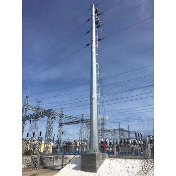 115kV Steel Power Pole