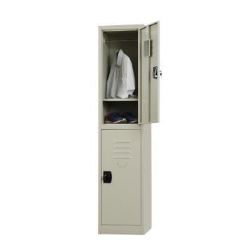 metal 2 door locker for cloth storage