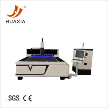 Automatic metal sheet fiber laser cutting machine