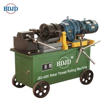 JBG-40ki Portable rebar thread rolling machine best quality