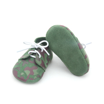 Wholesales Special Designs Army Green Boy Shoe