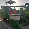 Automatic unloading grain rice combine harvester