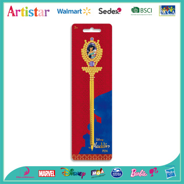 Disney Princess novelty pen with blister card