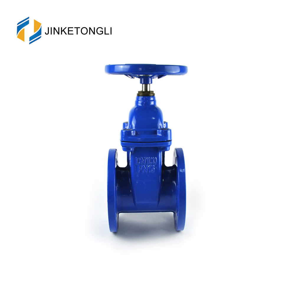 Ductile iron manual slide handwheel 6 inch stem gate valve