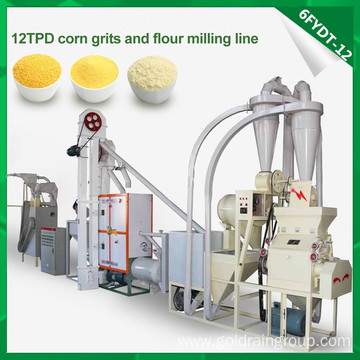 Full Automatic Grain Processing Machine