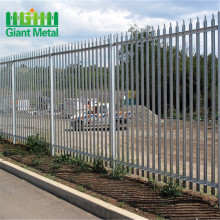 palisade fence construction