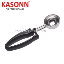 China Exporter for Stainless Steel Fruit Scooper Squeeze Ice Cream Cookie Disher with Plastic Handle export to Virgin Islands (U.S.) Exporter
