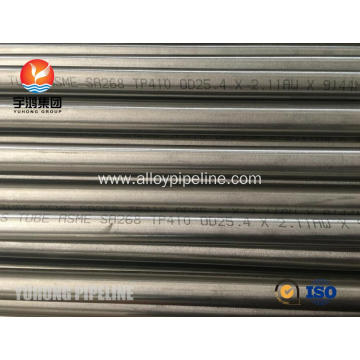 TP410 ASTM A268 Stainless Steel Seamless Tube