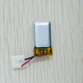 3.7V 80mAh polymer lithium battery for bluetooth earphone