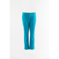Ladies Aqua cotton trousers