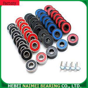 608-RS colored high speed skateboard bearing