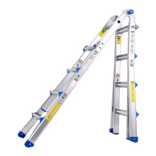 Multifunction telescopic aluminum  ladder