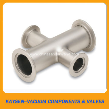 Stainless Steel KF NW Vacuum Reducing Crosses
