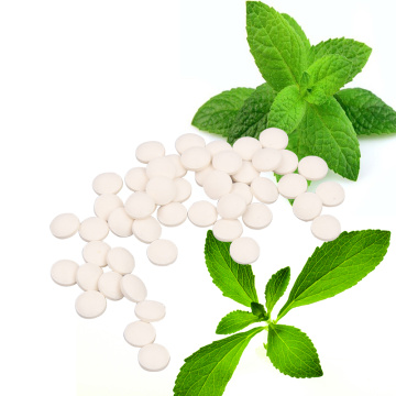 Stevia tablets sugar sweetener raw tablet