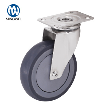 Swivel 5 Inch TPR Caster Wheels