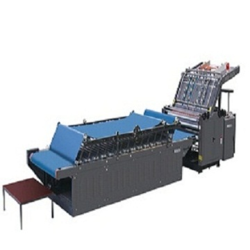TM semi automatic vacuum flute laminator machine