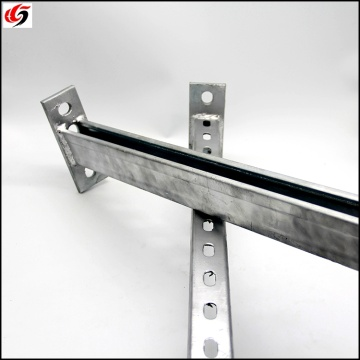 new style hot dip galvanized hdggiuni strut sheet metal support steel ss316 c channel fabricante